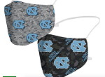 North Carolina Tar Heels Camo Face Coverings (Adult Size)(Pack of 2)