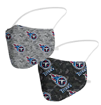 Tennessee Titans Camo Face Coverings (Adult Size)