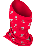 Wisconsin Badgers On-Field Neck Gaiter (Adult Size)
