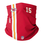 Patrick Mahomes Kansas City Chiefs On-Field Neck Gaiter (Adult Size)