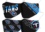 Tennessee Titans Face Covering (Adult Size) (Pack of 4)