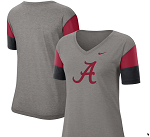 Alabama Crimson Tide Nike Women's Team T-Shirt (Heather Gray)