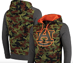 Auburn Tigers Camo Pullover Hoodie