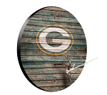 Green Bay Packers Weathered Design Key Chain Holder / Hook & Ring Game