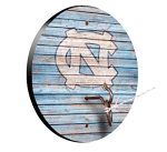 North Carolina Tar Heels Weathered Design Key Chain Holder / Hook & Ring Game
