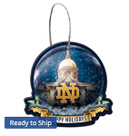 Notre Dame Fighting Irish Globe Ornament