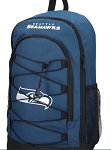 Seattle Seahawks Bungee Backpack