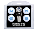 North Carolina Tar Heels 4-Ball Golf Gift Set