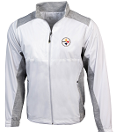 Pittsburgh Steelers Antigua Revolve Full-Zip Jacket - White