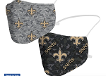 Saints Camo Face Covering (Pack of 2)