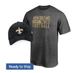 New Orleans Saints T-Shirt and Cap Combo