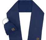 Notre Dame Fighting Irish ZooZatz Scarf and Cuffed Knit Hat with Pom Set