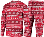 Ohio State Buckeyes Ugly Sweater and Pant Set