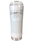 Kansas City Chiefs Super Bowl LIV Champions 24oz. Draft Tumbler - Pearl White