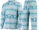 North Carolina Tar Heels  Ugly Sweater and Pant Set