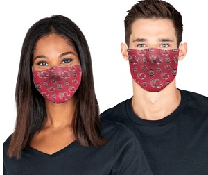 South Carolina Gamecocks Face Covering (Adult Size) (Pack of 3)