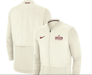 Alabama Crimson Tide Nike Women's Sideline Jacket (Cream)