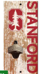 Stanford Cardinal Distressed Bottle Opener