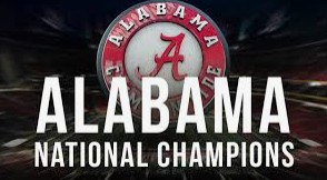 Alabama Crimson Tide National Champs School Fundraiser